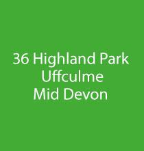 36 Highland Park, Uffculme