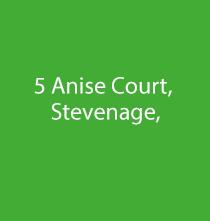 5 Anise Court, Admiral Drive, Stevenage, Herts, SG1 4GA
